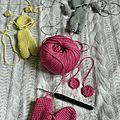 Mini-trio du livre tendre crochet (n°4)