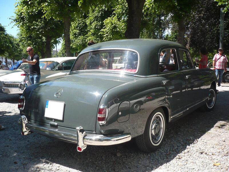 MERCEDES 219 W105 Ponton Karlsruhe (2)