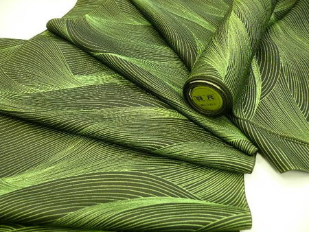Deep_Green_Haori_Fabric_Bolt_Wavy_Ptt_H17_1