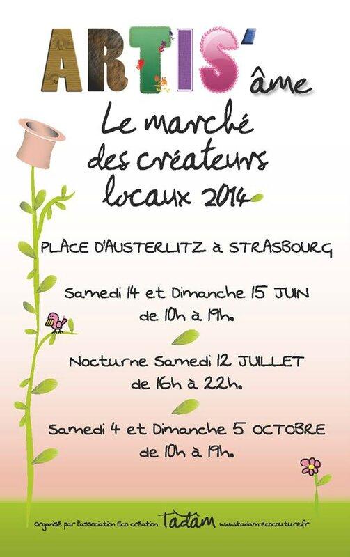 Artis'âme flyer 2014 recto Mai 2014