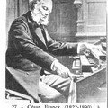 César Franck à l'orgue