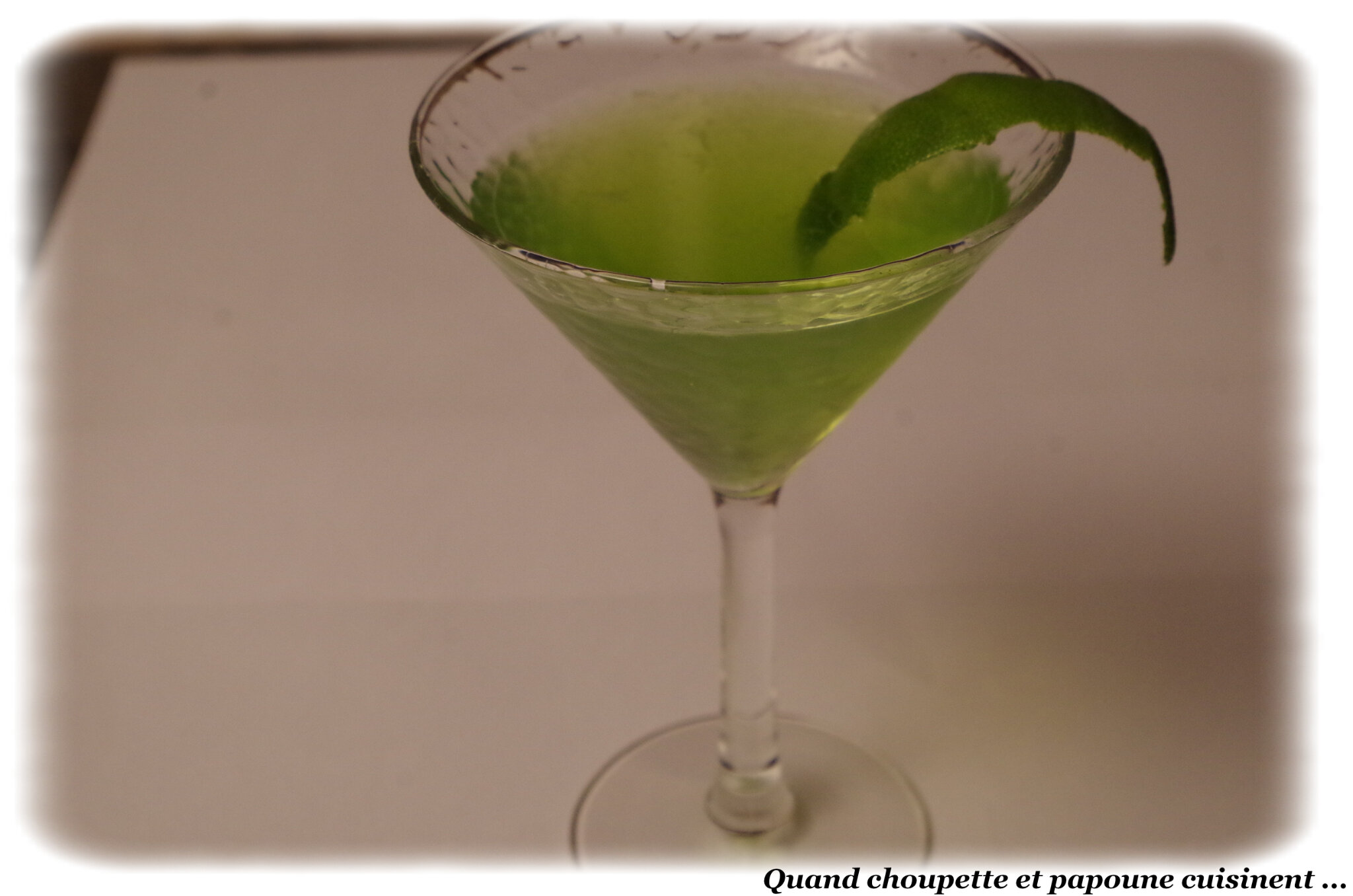 COCKTAIL GREEN PARTY