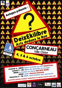 affiche deizekilibre 2013