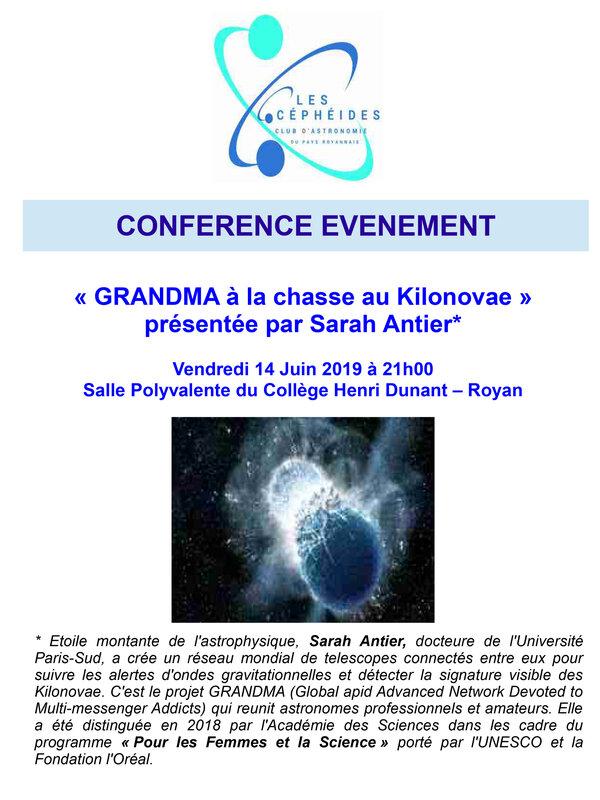 Conférence GRANDMA