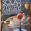 Maquette du système solaire
