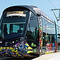 Tramway Montpellier Christian Lacroix L3