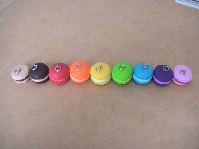Divers Coloris Macarons Photo De Macarons En Pâte Fimo à Vendre