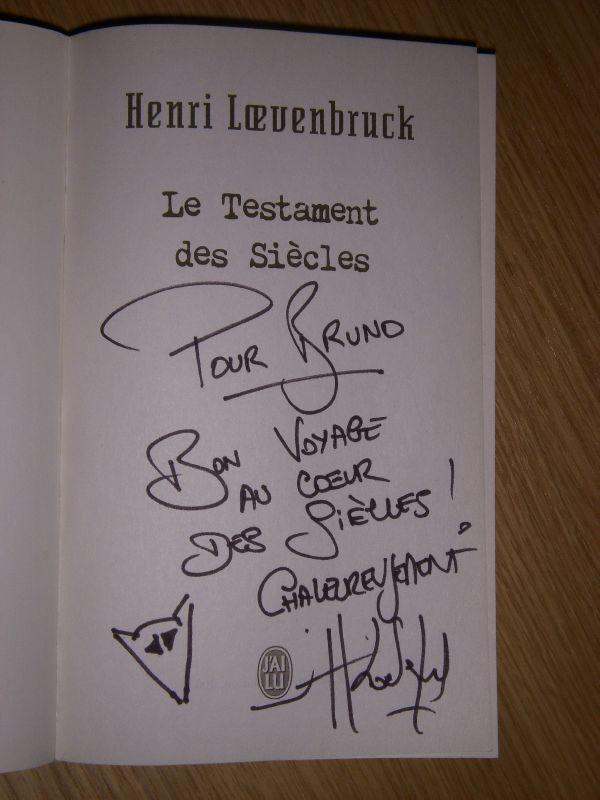 Henri Lœvenbruck - Le testament des siècles