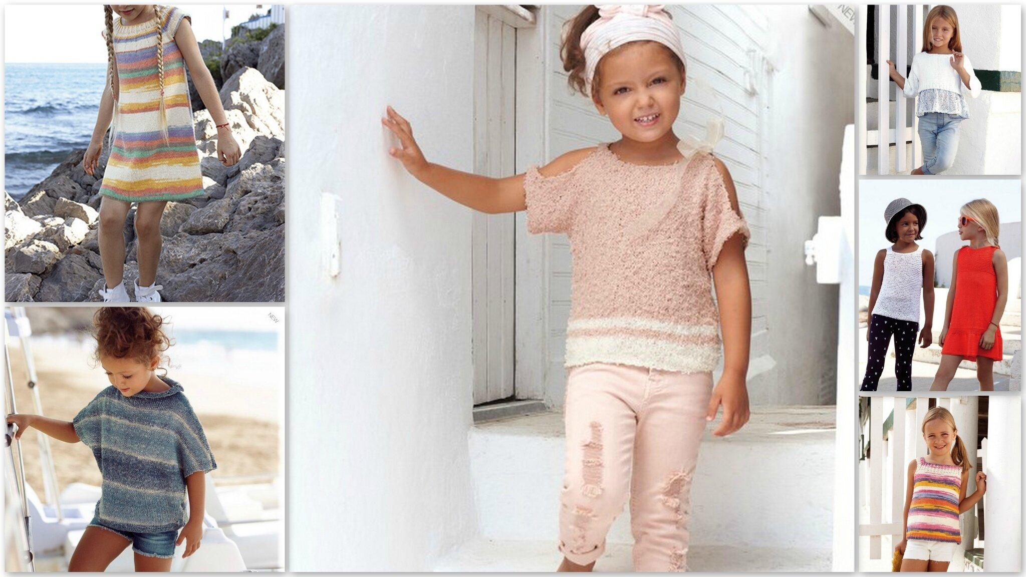 Quelques idées de modèles pour enfants avec les fils KATIA