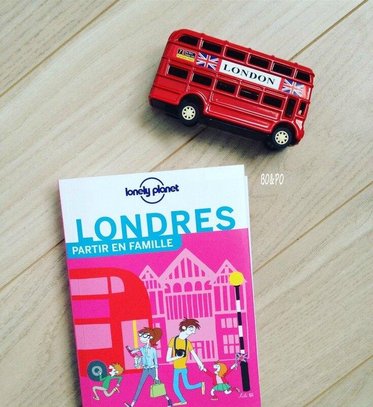 lonely planet Londres en famille voyage voyager séjour Angleterre maman boucle d'or