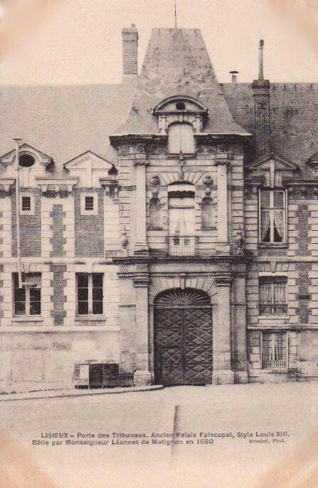 Lisieux les Tribunaux (3)
