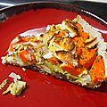 Tarte carottes et son d'avoine