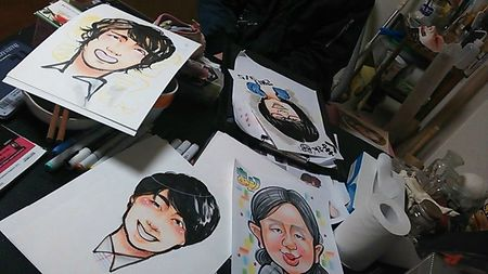 Portraits manga made in Japan