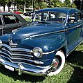 Plymouth special de luxe 4door sedan 1946-1948
