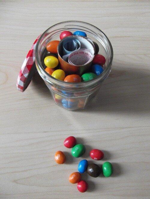 Pot bonbon surprise
