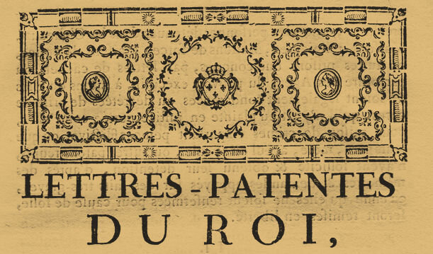 Le 17 janvier 1791 à Mamers : enregistrement de lois.
