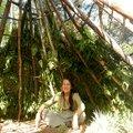 a l'abri d'un canevas de fougères yurtao