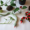 Un serpent au crochet