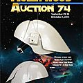 Catalogue 'hollywood auction 74