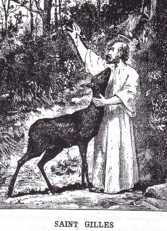 St Gilles gravure