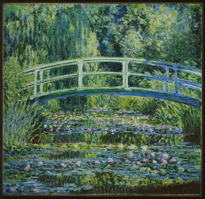 Claude Monet, Water Lilies and Japanese Bridge, 1899_low-res