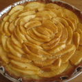 Tarte aux pommes vanillée