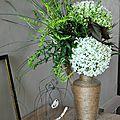 Vase en lin
