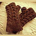 mitaine tricot 2