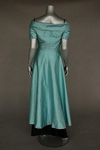 A 1925 Couture Cocktail Dress Attributed To Coco Chanel