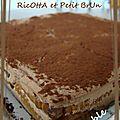J'ai pas pu résister à tester ce gâteau au chocolat et ricotta !