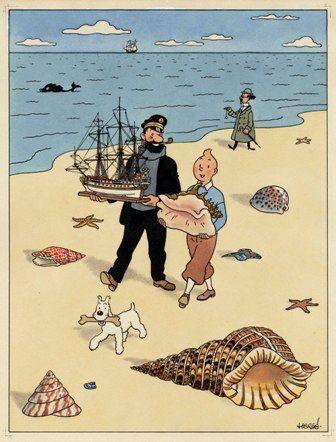 4_PIASA___Tintin_et_les_coquillages___Vente_HERGE_2_526c2