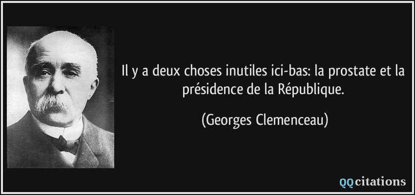 Citation Georges Clémenceau