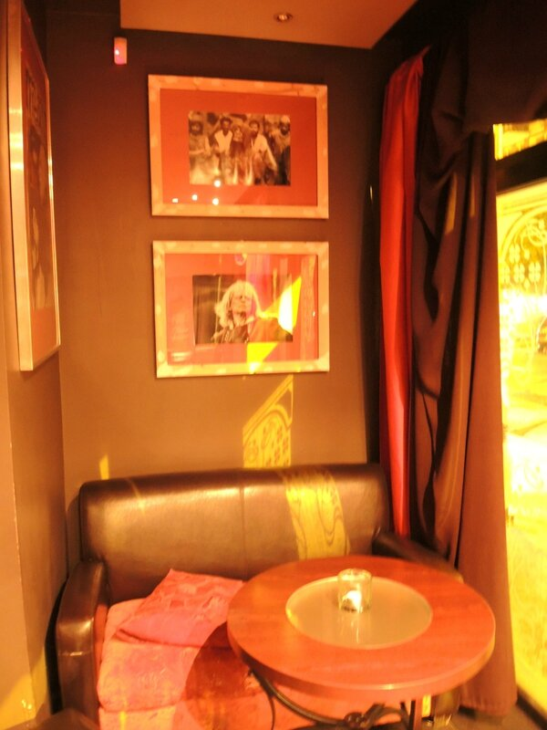 Sopot, bar Kinski, intérieur, la salle (Pologne)