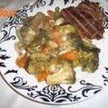 Des legumes cuit sans eau