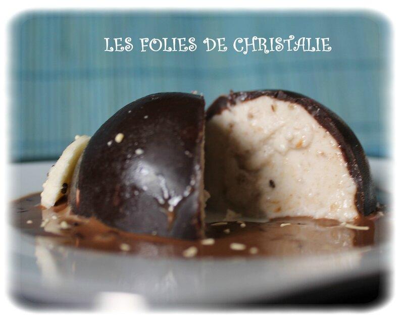 Domes bananes chocolat 15
