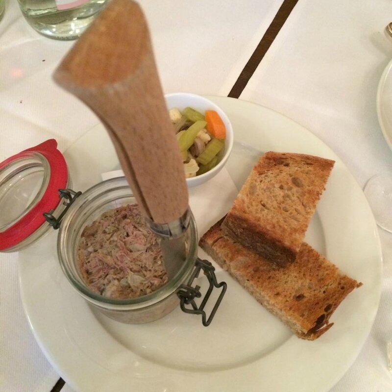 Rillettes de jarret de porc et foie gras (2)
