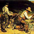 Courbet, les casseurs de pierre