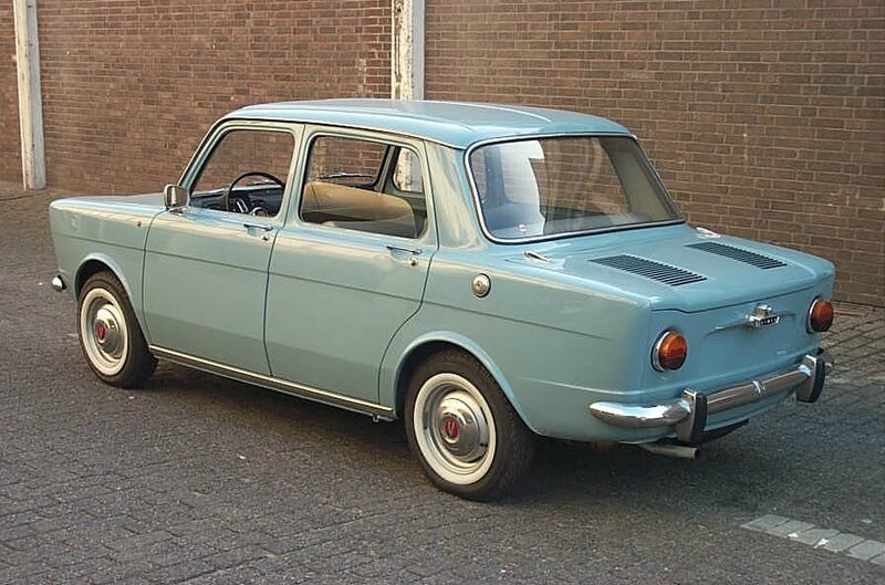 1963_Simca_1000_-_rear_view