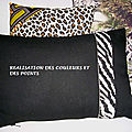 COUSSINS ESPRIT SAFARI PHOTO ZEBRE