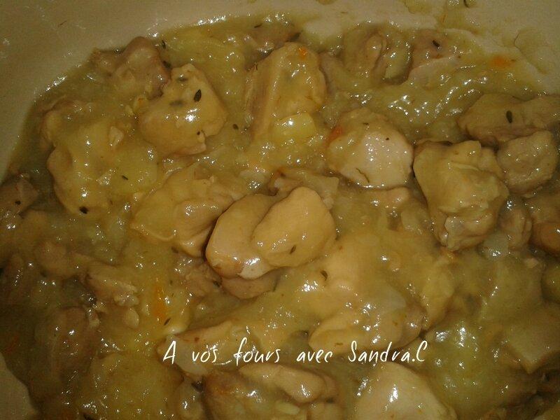 blanquette de poulet sauce poulette 1