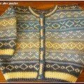 tricot jacquard pierre