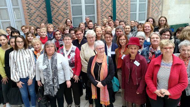 Journée internationale des droits des femmes 2019 Paroles de bourbonnaises,ateliers,randonnée,échanges constructifs à renouveler