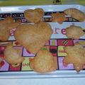 biscuits à la vanille ou petits fours