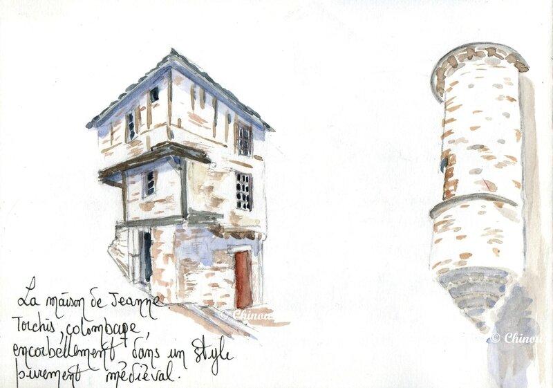 Maison de Jeanne Sévérac le Château