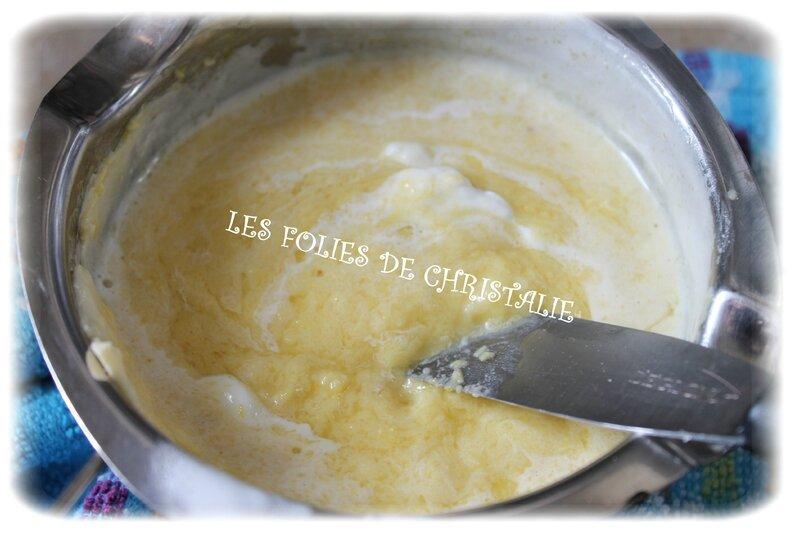 Mousse au chocolat blanc 4
