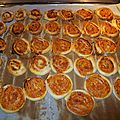 Petits palmiers tomates /fromage