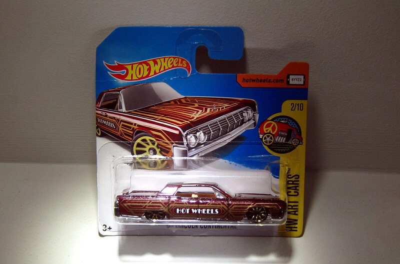 Lincoln Continental de 1964 (Hotwheels 2017)