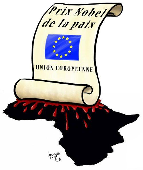 Prix Nobel de la Paix union européenne