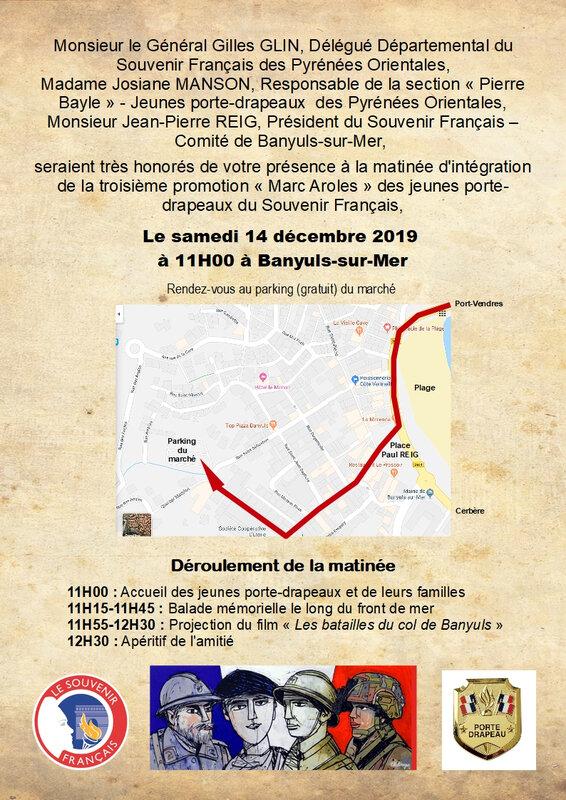 Carton d'invitation au week-end d'intégration - 14 décembre 2019 - Page 1