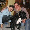 2007 : Avec Aurélie qui s'occupe de moi aujourd'hui